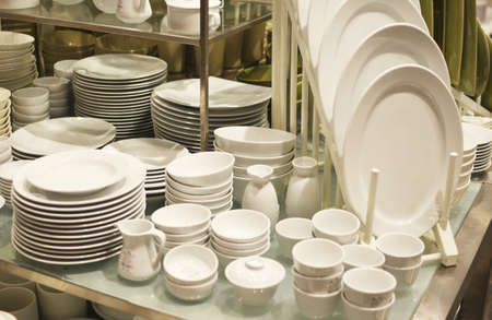 plates in a shop photo