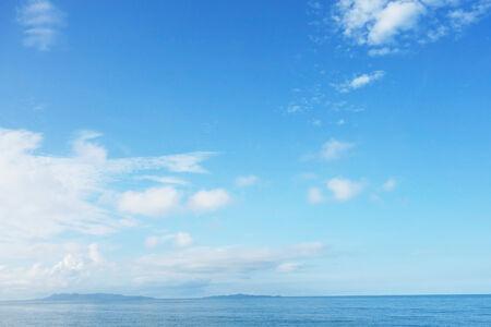blue sky and sea 版權商用圖片
