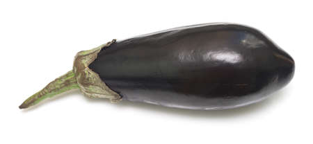 eggplant isolated on white background Stok Fotoğraf - 76915968