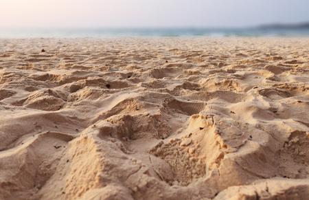 Beautiful sand beach Foto de archivo - 119762545