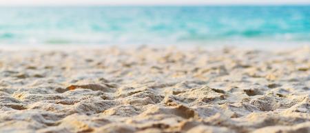 Beautiful sand beach Foto de archivo - 119762547