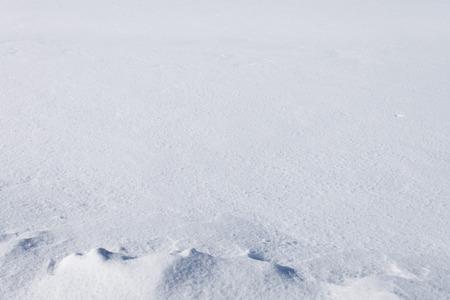 Fresh snow in perspective Foto de archivo - 119762570