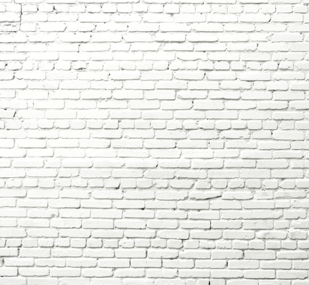 White brick wall Foto de archivo - 124172931