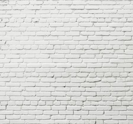 White brick wall Foto de archivo - 124172933