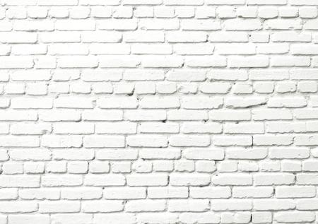 White brick wall Foto de archivo - 124172935