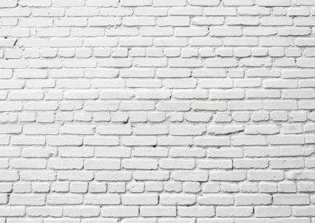 White brick wall Foto de archivo - 124172937