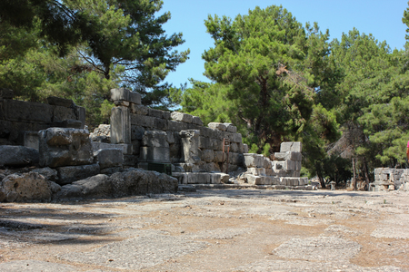 The Ancient City of Phaselis Turkey