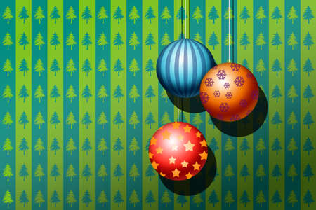 merrily: Christmas background
