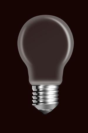 socle: Elektricheskaya a bulb is empty in the middle