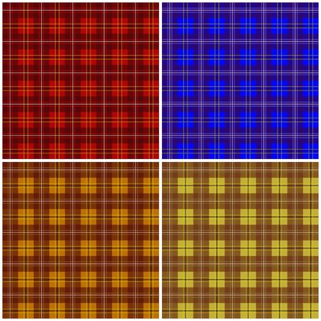 matter: Illustration of four backgrounds from a checked matter