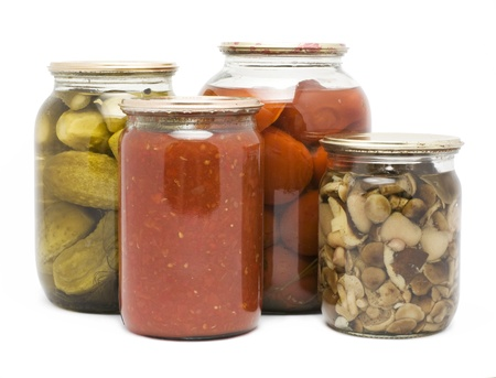 canned fruit: Preservation