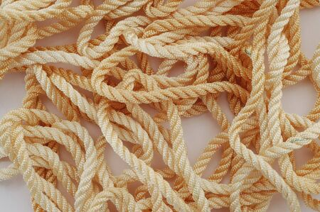 hank: Hank of twisted kapron ropes.