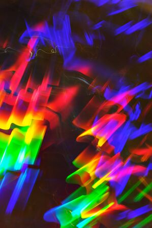 Spectrum colored light abstract. photo