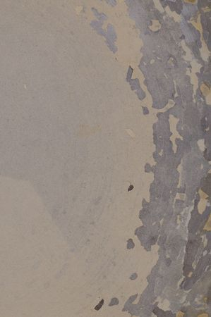skimming: Lime scale in the old kettle. Texture. Close-up. Stock Photo