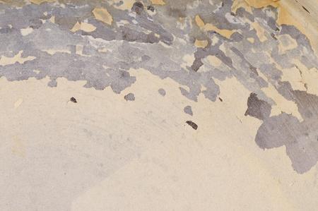 Le calcaire dans la bouilloire ancienne. Texture. Close-up.