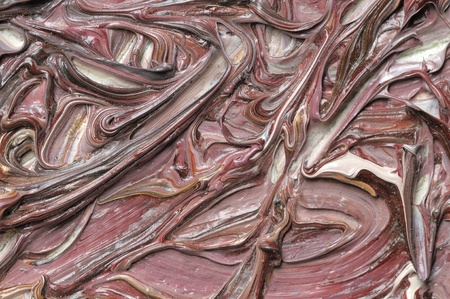 フラグメントのテクスチャ グランジ キャンバス上の抽象的な油彩画