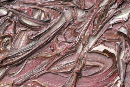 Peintures � l'huile abstraite sur la toile Grunge Texture Fragment
