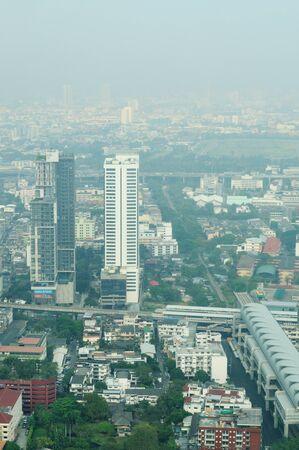 archtecture: BANGKOK - FEBRUARY 23: Downtown of Bangkok, February 23, 2011.