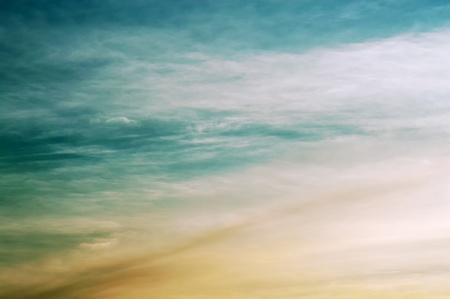cirrus: Big cirrus clouds in beautiful tropical skies  Stock Photo