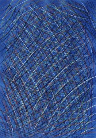 mixed: Color crayons backround. Mixed media artwork.