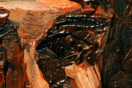 abstract paintings: Abstract oil paintings on the canvas. Fragment. Texture. Grunge.