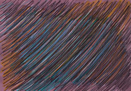 mixed media: Color crayons backround. Mixed media artwork.