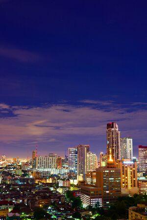 noises: BANGKOK, THAILAND - SEPTEMBER 8, 2015: Noisy and colorful life-filled streets of Bangkok.