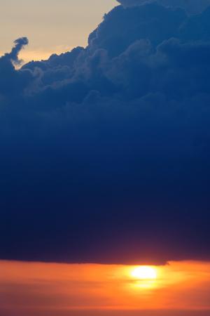 Dramatic sky background. Stock Photo