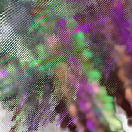 Fractal gravel. Abstract colorful picture Stok Fotoğraf