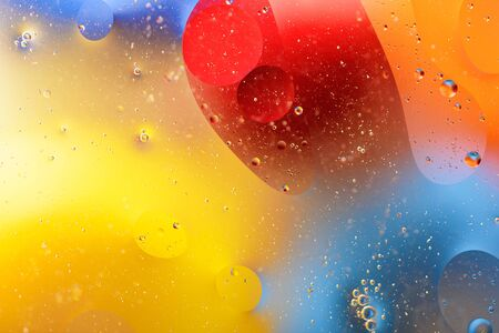 trendy colorful bubbles background, bright texture, for screensavers