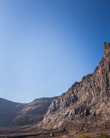 Kelud Rock Mountain in Kediri Indonesia