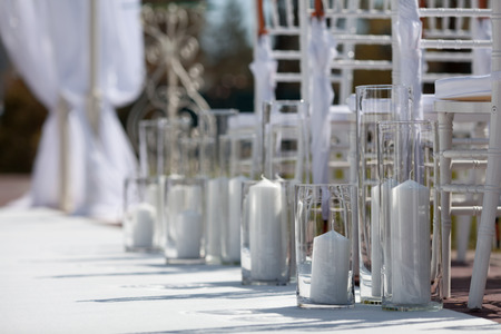 Wedding Aisle for an Outdoor Wedding Ceremony