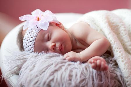 Baby is sleeping Banco de Imagens