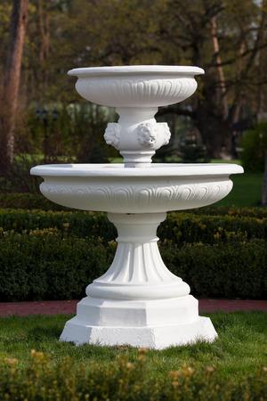 Fountain in the park Stockfoto
