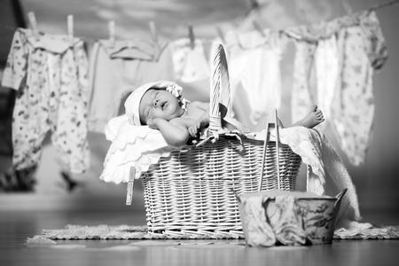 Baby relaxing