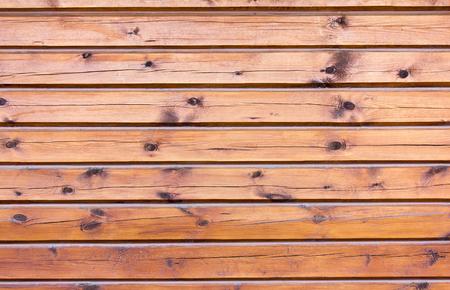 The wall of the wooden house Фото со стока