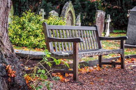 shakespearean: Shakespeare grave and cemetry at Stratford-upon-avon, UK. Stock Photo