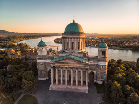 Esztergom Basilica is an ecclesiastic basilica in Esztergom, Hungary, the mother church of the Archdiocese of Esztergom-Budapest, and the seat of the Catholic Church.