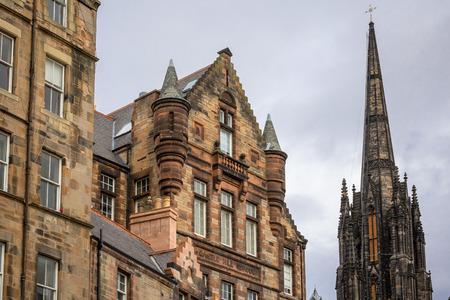 Royal Mile Old Town Edinburgh,Scotland Banque d'images