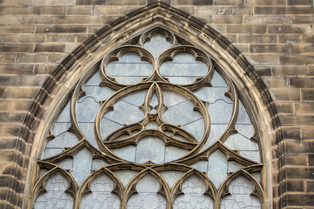 Window of St Giles Cathedral.