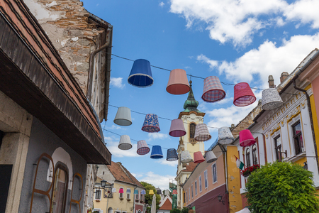 Szentendre is a riverside town in Pest County, Hungary, near the capital city Budapest. It is known for its museums galleries, and artists.