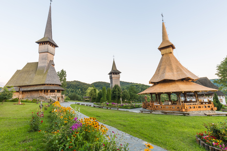Bârsanas Church of the Presentation of the Virgin in the Temple is one of eight Wooden Churches of Maramureș