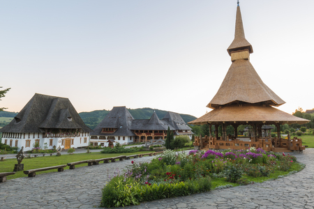 Bârsanas Church of the Presentation of the Virgin in the Temple is one of eight Wooden Churches