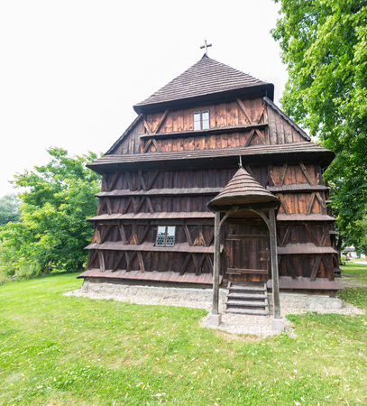 Wooden articular church of Hronsek is a Lutheran church situated in the village of Hronsek, in Slovakia.
