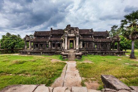Small temples at Angkor Wat, Siem Reap, Cambodia. 版權商用圖片