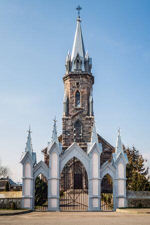 Saint Casimir's church in Lipnishki. Architectural monument of Belarus.