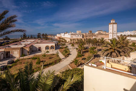 Old city of Essaouira in Morocco.