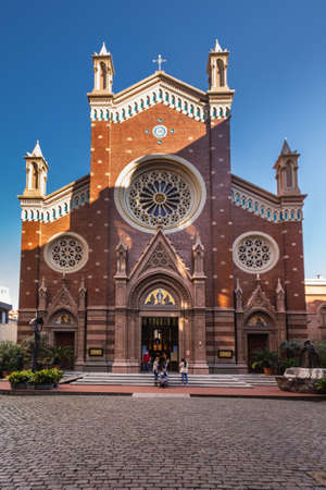 Union Church Of Istanbul. Istanbul, Turkey - September 30 2020.