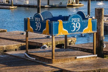 USA San Francisco pier