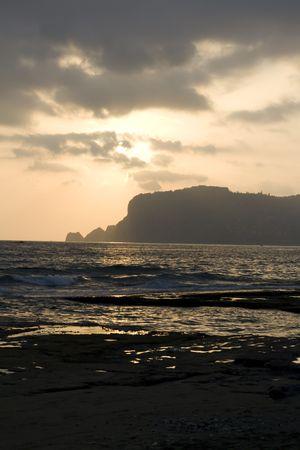 vested: Sundown, sea, is vested, sea breeze Stock Photo